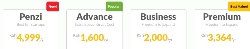 cheap web hosting in kenya